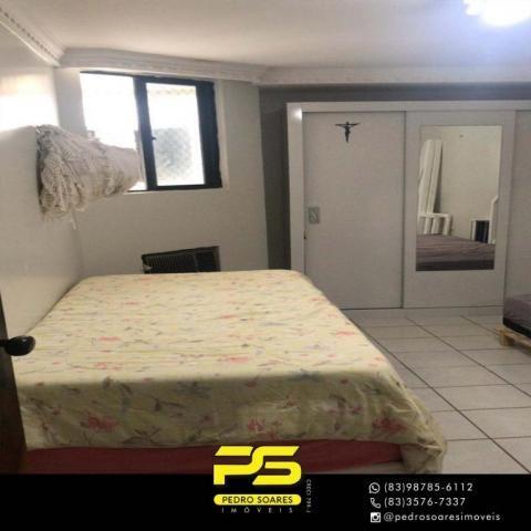 Apartamento com 3 dormitórios à venda, 147 m² por R$ 440.000 - Intermares - Cabedelo/PB - Foto 3