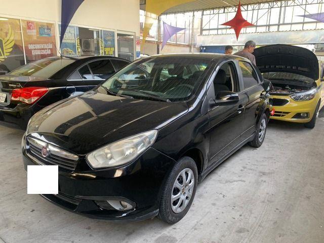 Grand seina 1.4 2013 ex taxi completo+gnv, aprovação imediata, basta ter nome limpo!!!!! - Foto 2