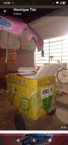 Vendo carrinho de salada - Foto 5