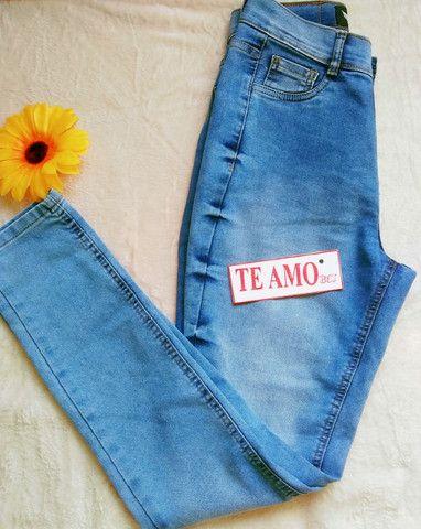 Calça Jeans Chapa barriga - Foto 5