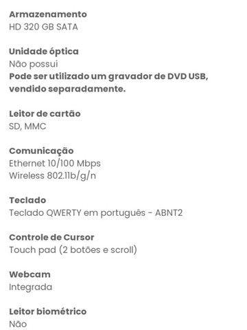 Netbook CCE Win - N23s - Usado - Foto 6