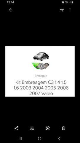 Kit Embreagem da Valeo Citroen C3 glx 2003 a 2008 - Foto 3