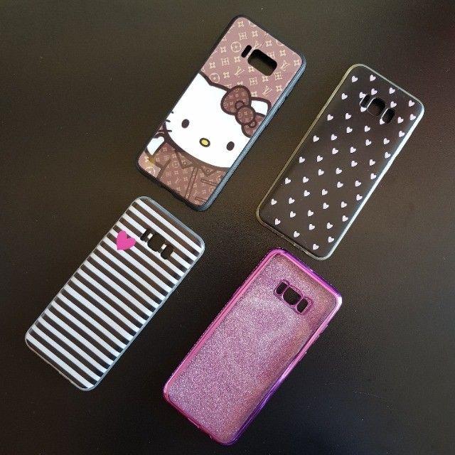 Conjunto 04 Capas Femininas Para Galaxy S8 Plus S8+