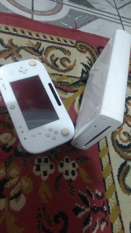 Wii U DESTRAVADO 32gb aceito troca - Foto 2