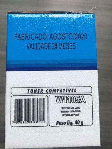 Cartucho Toner HP w1105a compatível 105A 107A 103 108 135 136 137 138 S/  - Foto 3