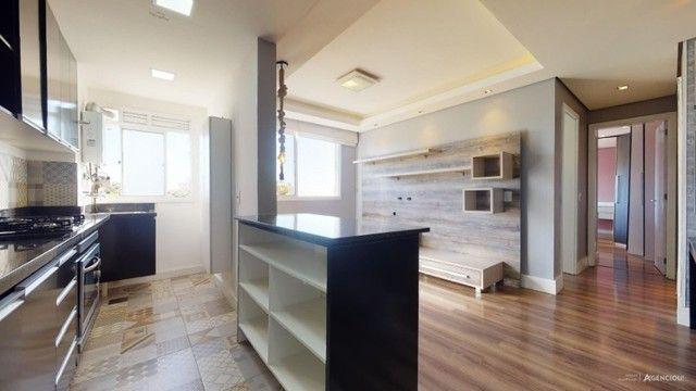 Apartamento Mobiliado com 59 m² de 2 dormitórios no Jardim Carvalho - Foto 3