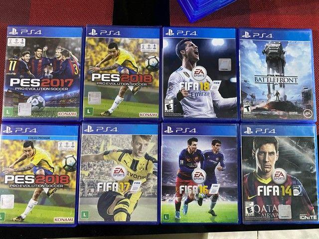 Jogos de ps4 ( PlayStation 4 ) aceito cartao  - Foto 2