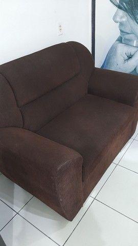 Sofa dois lugares em bom estado  - Foto 2