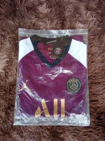 Camisa PSG Jordan Neymar JR 10 - 110 - Foto 3