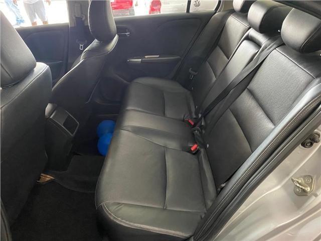 Honda City 1.5 exl 16v flex 4p automático - Foto 6