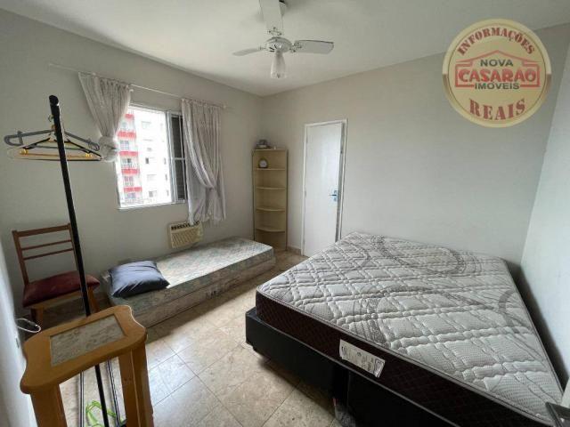 Apartamento com 2 dormitórios à venda, 72 m² por R$ 330.000 - Guilhermina - Praia Grande/S - Foto 12