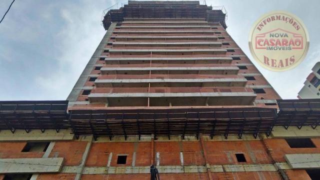 Apartamento com 2 dormitórios à venda, 93 m² por R$ 465.000 - Aviação - Praia Grande/SP - Foto 3