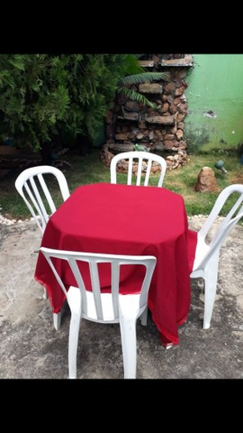 Mesas e cadeiras (LOCAÇÃO) - Foto 2