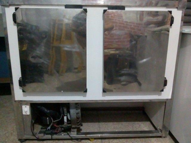 Balcão duas portas expositor refrigerado 220v - Foto 2