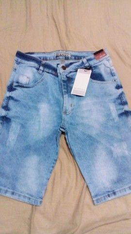 Bermudas jeans atacado - Foto 2