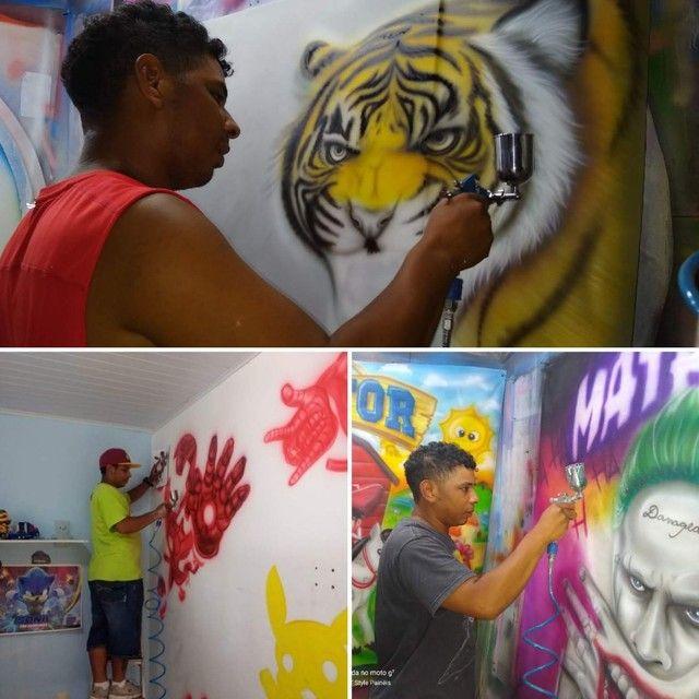 Grafitagem e letreiros