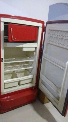 Refrigerador GE raridade antiguidade 1950 colecionador - Foto 2
