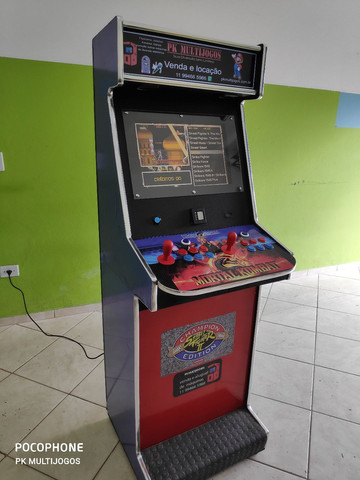 Fliperama Arcade 1.000 Jogos Venda e locação ABC - Foto 2