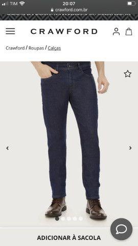 Calça jeans masculina Crawford Tam 40