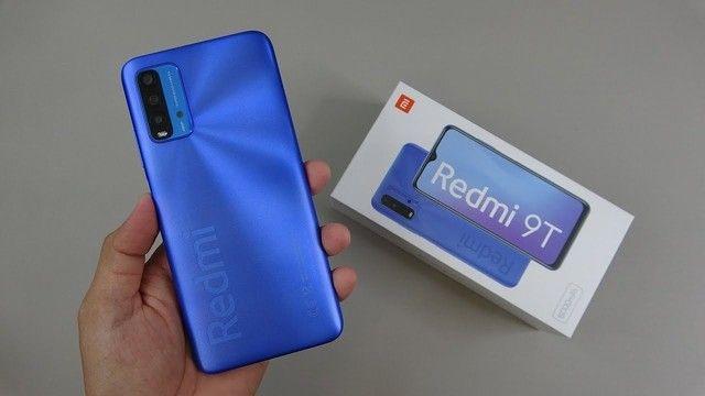 Redmi 9T 64 GB Bateria 6000 mAh Cinza/Azul  - Foto 6