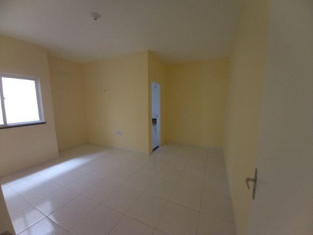 JP casa nova de 3 quartos 2 banheiros em rua asfaltada e do lado da sombra - Foto 6