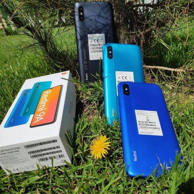 Redmi 9 A 32GB/2GB Ram Preto/Azul/Verde