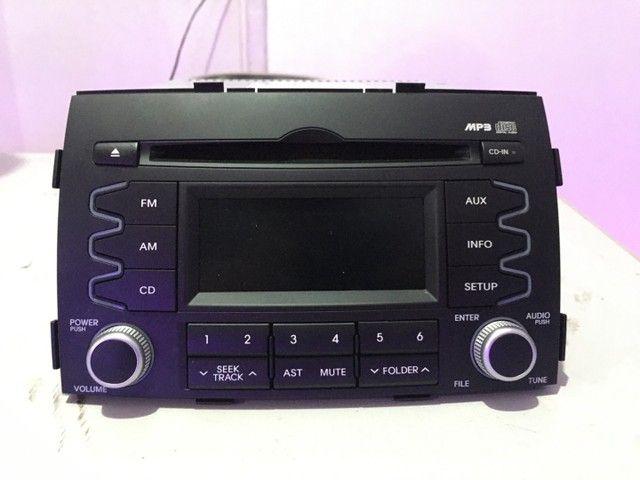 Som Radio Original Kia Sorento 2012 cod: 961402P400AMCA - Foto 5
