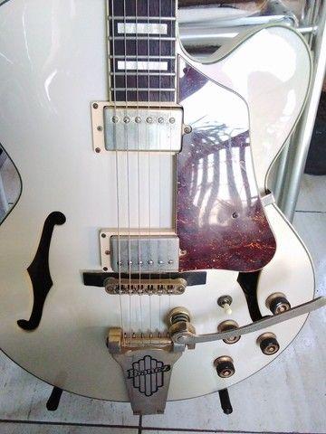 Guitarra Semiacústica Ibanez AF-75 TDG[seminova(regulada)] - Foto 5