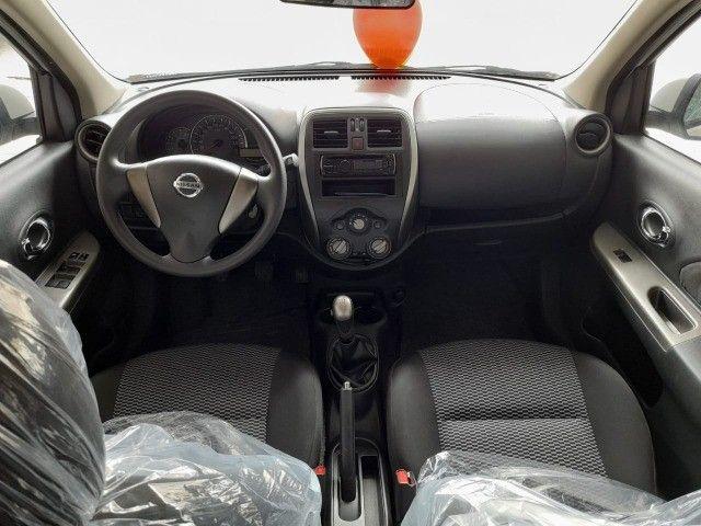 Nissan New March 1.0 3cilindros super economico Branco Perola - Foto 6