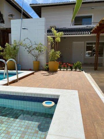 Linda e de fino acabamento! Casa em condomínio fechado 4 quartos, piscina privativa - Foto 3