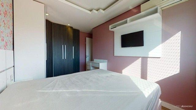 Apartamento Mobiliado com 59 m² de 2 dormitórios no Jardim Carvalho - Foto 18