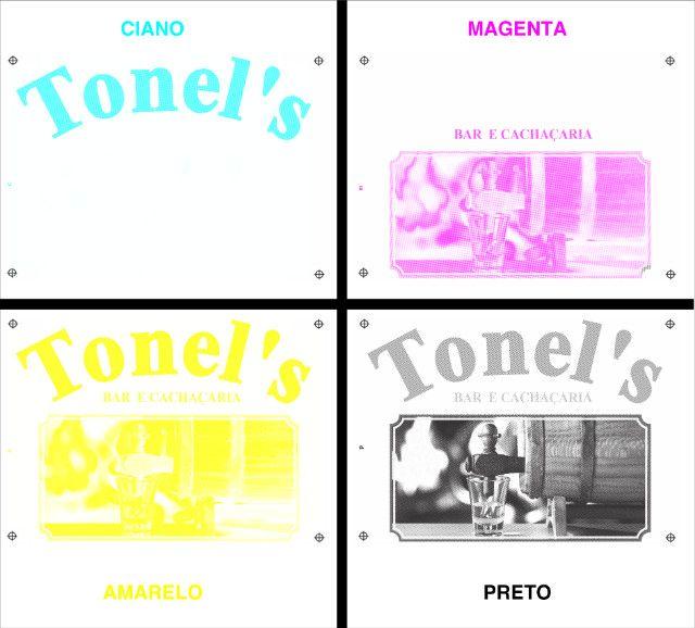 Separação de cores para serigrafia ou silk-screen - Foto 4