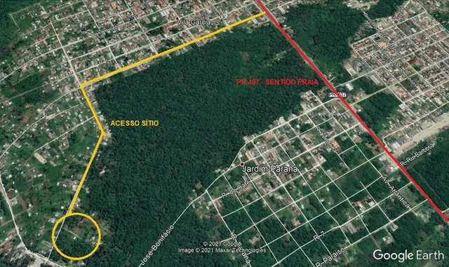 Vendo área para chácara (160,000)