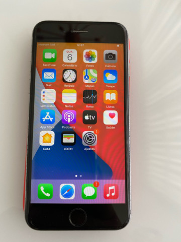 iPhone 6S cinza 64 GB - Foto 6
