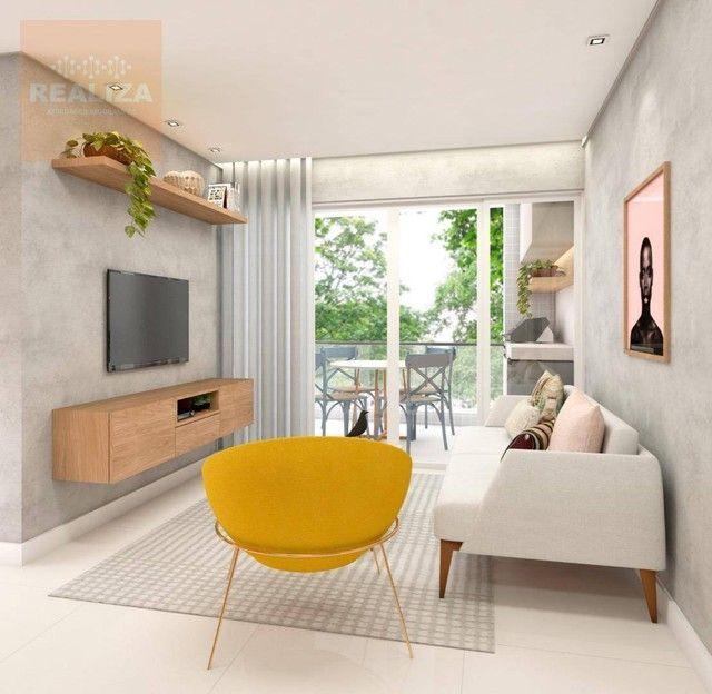 Apartamento com 3 dormitórios à venda, 120 m² por R$ 690.000 - Pedra - Eusébio/CE - Foto 9