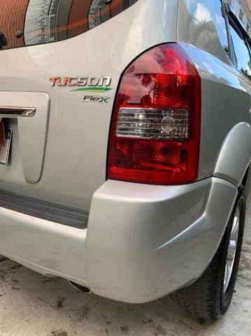 Vendo Tucson GLSB 2.0 Flex 2013 automática prata impecável