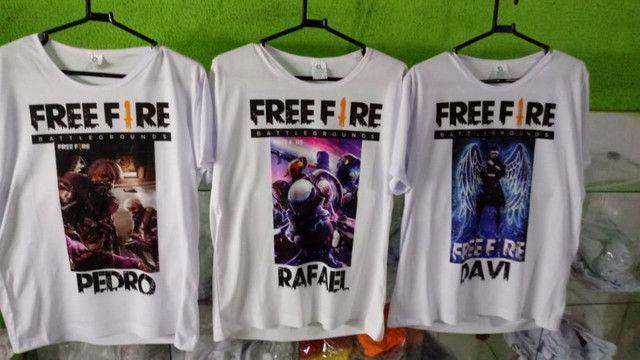 FreeFire camisas - Foto 5