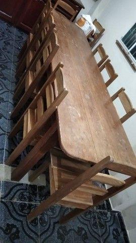 Mesa com 10 cadeira Manacapuru - Foto 2
