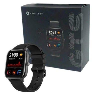 Relógio Xiaomi Amazfit GTS-A1914 - Preto - Cinza - Dourado
