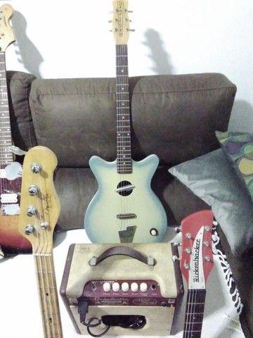 Caixa Amplificada de Guitarra Danelectro(Rara no Brasil) - Foto 3