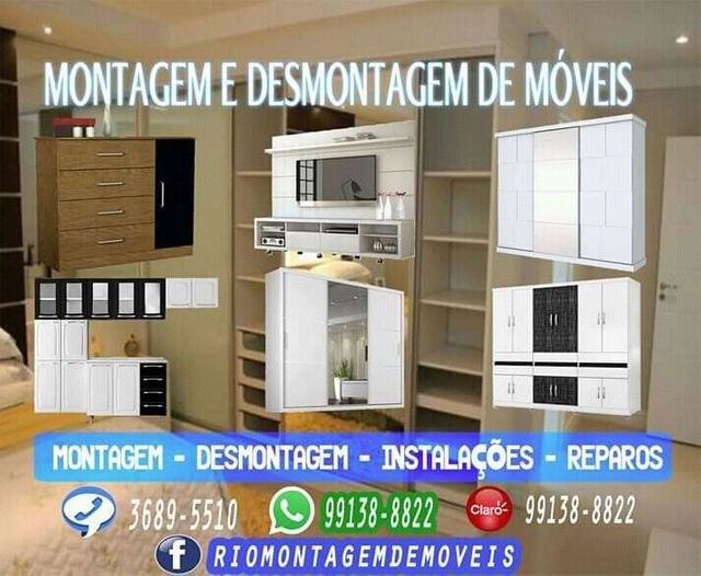 Montador de móveis, Montador de móveis, Montador de móveis, Montador de móveis