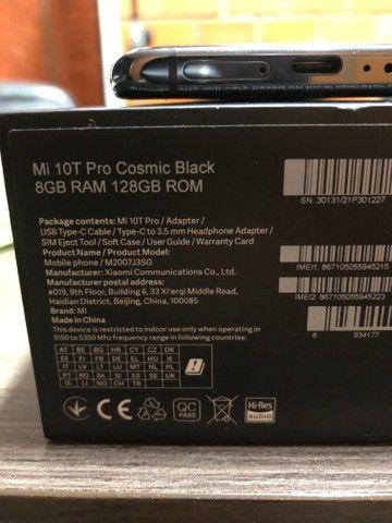 Celular Xiaomi 10T Pro 5G 128GB Preto - Foto 4