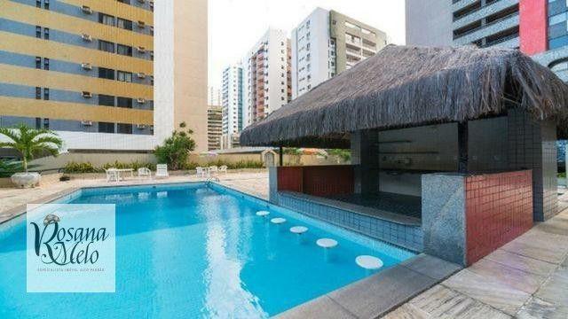 Edf Recife Flat / Boa Viagem / Setúbal / mobiliado / Lazer /top - Foto 10