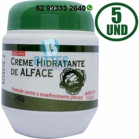 5 Creme Hidratante Corporal de Alface Previne o envelhecimento Precoce Hábito Cosméticos