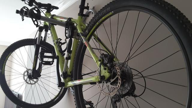 "Vendo Bike Trek Merlim 7 Aro 29"" zerada - Foto 4"