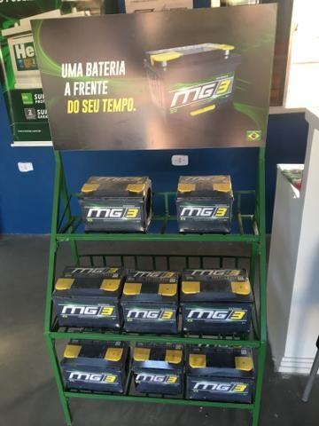 Bateria automotiva (Heliar,Moura,América,strada,Mg3) - Foto 4