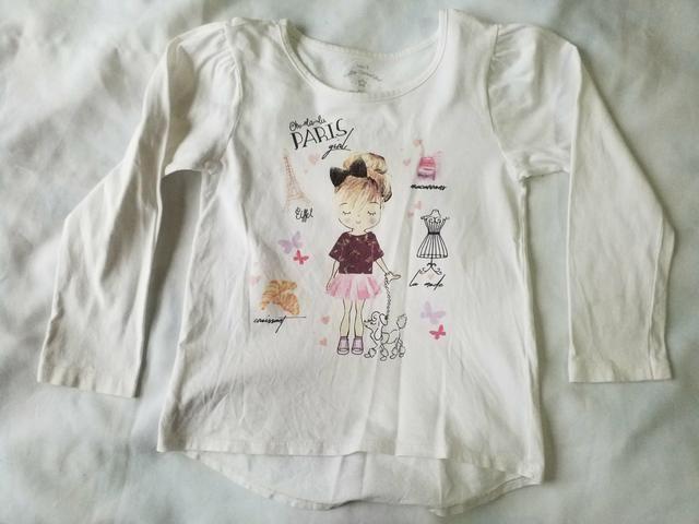 Lote camisas fininhas meninas 3 anos (novinhas) - Foto 3