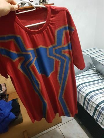 Camisa Spiderman Tamanho G