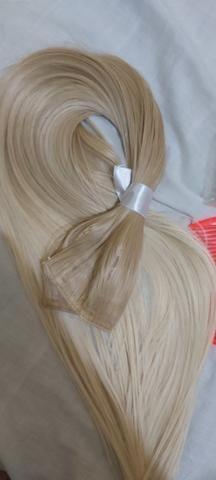 Mega hair louro da Malu - Foto 2