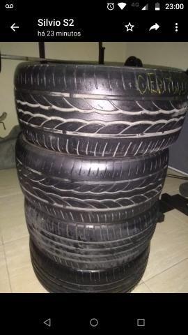 4 pneus 205/40/r17 mais de meia vida